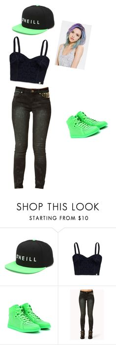 """""""Untitled #11"""" by sydnik13 ❤ liked on Polyvore featuring Mode, O'Neill, Hollister Co., Gucci und Forever 21"""