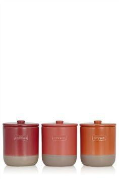 Buy 3 Pack San Diego Storage Jar Set from the Next UK online shop Jar Storage, Kitchen Storage, Next Uk, Uk Online, San Diego, Tableware, Shop, House, Stuff To Buy