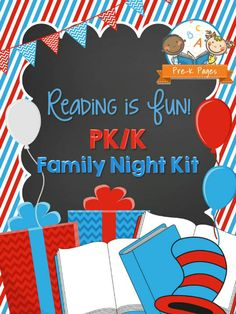 15 Best Family Literacy Night Images Elementary Library