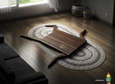 Отличная реклама средств по уходу за мебелью от компании Old English #Ads #Design #Creative