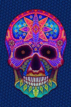 Huichol Art Covers by Alejandro Cortez, via Behance