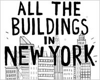 One mans attempt to draw every building in NYC. Nyc, Illustration, Draw, Building, To Draw, Buildings, Sketches, Illustrations, Painting