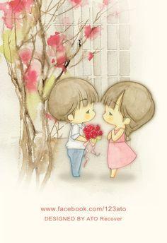 O amor pode vir de várias maneiras basta se permitir vive-lo...
