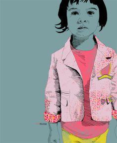 La Belette Rose || Little Portrait
