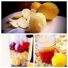 Raw Strawberry Lemonade Slushies