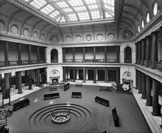 Trading Hall, Liverpool Cotton Exchange, Old Hall Street, Liverpool, (1907). (English Heritage)