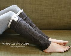 Leg warmers..lots of styles to choose from also cute boot socks..$34.00 looove etsy..homemade rocks!!