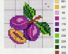 "Cute heart things: Cross Stitch: ""Again, it's time to prepare for the cap cans"""