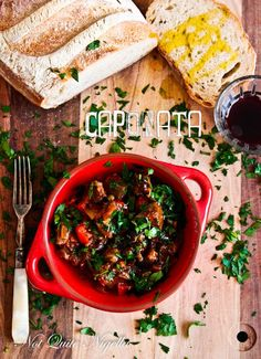 This rich and chunky eggplant Caponata Recipe makes a sauce perfect for serving over pasta or topping onto toast.