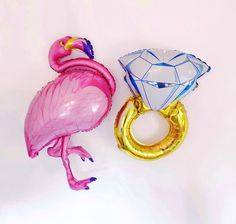 Flamingo Ring Balloon Flamingo Bachelorette Beach Bach Balloons Flamingo Engagement Party Bridal Shower Final Flamingle Lets Flamingle Dinosaur Balloons, Dinosaur Party, Dinosaur Birthday, Donut Birthday Parties, Donut Party, Let's Flamingle, Beach Bachelorette, Letter Balloons, Party Stores