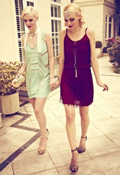 The Great Gatsby Vintage Fashion: Uttam, Boutique Popcouture Loving the one on the right