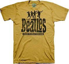 The Beatles Hold Your Hand Hombre Tri-Blend Camiseta #regalo #arte #geek #camiseta