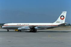 Boeing 707, Boeing Aircraft, Lan Chile, Mercury, Illinois, Lan Airlines, Air Company, Vintage Air, Commercial Aircraft
