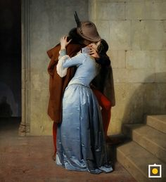 Il bacio di Hayez al tempo delle selfie - The kiss Selfie Hayez