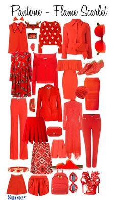 Pantone Colors 2017 flame scarlet