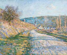 La Route de Vétheuil C Monet -1880.