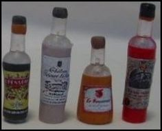 """This tutorial will show you how to make miniature bottles using """"push pins"""" and polymer clay. More free miniature dollhouse projects at My Small Obsession, click the link at the bottom of this page. For Personal Use Only Please Clear push pins ..."""