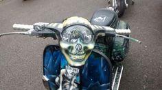 Skull headlight