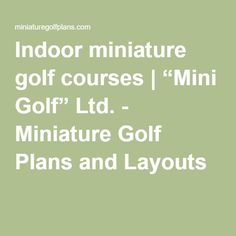 How to Write a Golf Club Business Plan
