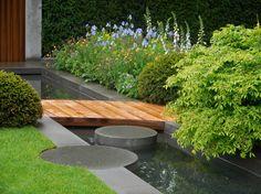 Country Garden Chelsea Flower Show 2015 - The Homebase Urban Retreat Garden