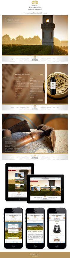 Château Haut-Batailley #webdesign #chateau #wine #vin #hautbatailley #pauillac #bordeaux