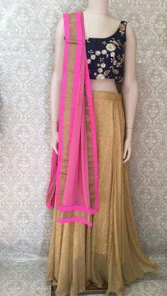 Lehenga Choli/Chaniya Choli/ Garbha Dress Lengha Choli, Anarkali, Indian Fashion, Women's Fashion, Embroidered Silk, Indian Outfits, Dress Skirt, High Waisted Skirt, Fashion Dresses