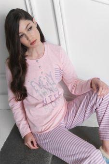 Pijama Invierno Egatex mujer modelo Okay http://www.perfumeriaelajuar.com/homewear/pijama-mujer-invierno-/00142547/pijama-egatex-mujer-modelo-okay.html
