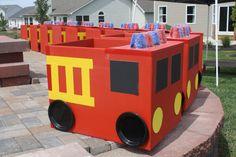 Firetruck diy idea