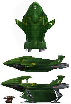 Thunderbird 2 redesign by Harnois75.deviantart.com on @deviantART
