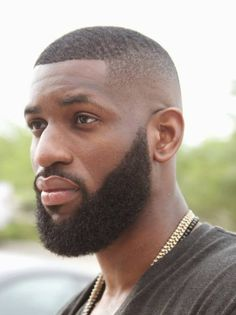 Bald Fade and Beard Allen Onyia Black Men Haircuts, Black Men Hairstyles, Boy Haircuts, Hairstyle Men, Funky Hairstyles, Formal Hairstyles, Beard Styles For Men, Hair And Beard Styles, Sexy Bart