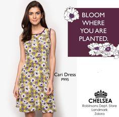 Starting the week with #determination 🌼  Cari dress available at: 1. Zalora.com.ph/Chelsea  2. Robinsons Dept Store 3. Landmark Dept Store  #shopatchelsea #fbloggersuk #fbloggers #philippines #zaloraph #dress #style