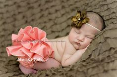 Sassy Pants Coral Ruffle Diaper Cover Panty by SherbetBaby on Etsy, $32.00
