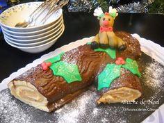 Paraiso: Bûche de Noël con turrón de jijona para Cocinas de...