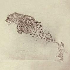 Bubbles the Snow Leopard | REcreative