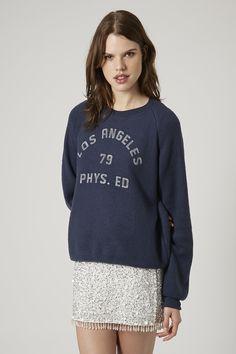 LA Fleece Sweatshirt by Project Social T - Topshop