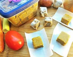 Tablete de caldo de legumes saudável -- como fazer