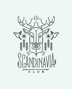 SCANDINAVIA CLUB. Illustrations on Behance