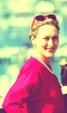 Meryl Streep at the Cannes Film Festival in 1989