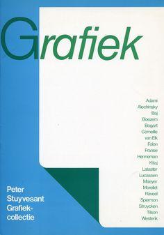 Wim Crouwel – Grafiek. Peter Stuyvesant Grafiek Collectie – 1980