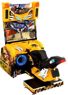 Storm Rider Arcade Motorbike Racing Video Game | From Wahlap and SEGA Amusements |   Get more information about this game at: http://www.bmigaming.com/games-catalog-sega.htm