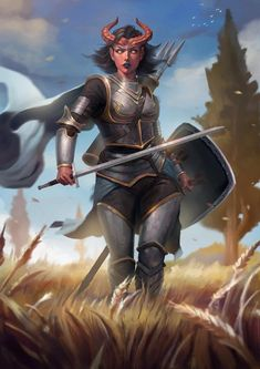 Dungeons And Dragons Characters, D D Characters, Fantasy Characters, Tiefling Paladin, Tiefling Female, Dnd Paladin, Fantasy Character Design, Character Inspiration, Character Art