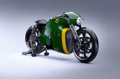 Shit, that's a sweet-looking bike: Lotus C-01