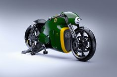 Shit, that's a sweet-looking bike: Lotus C-01