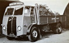 BRS Sentinel 14 Ton D/S CWO 621, via Flickr. Antique Trucks, Vintage Trucks, Old Trucks, Classic Trucks, Classic Cars, Old Bangers, Old Lorries, Road Transport, Vintage Vans