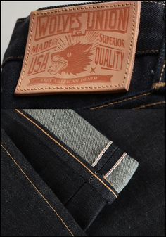 The Wolves Union Denim Co. on Behance