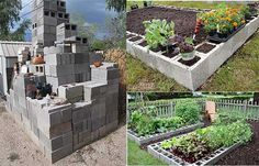 Building A Raised Garden Bed Out Of Cinder Blocks Building A RaisedGardenBed Out Of Cinder Blocks Raised bed gardening has manybenefits – the soil stays loose and well-drained since itisn't getting con