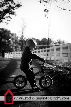 A boy and his bike | Child Photography | Copyright Jonna Nixon/Red House Photography 2012
