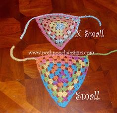 Posh Pooch Designs Dog Clothes: Pennant Dog Bandanna Free Crochet Pattern | Posh Pooch Designs