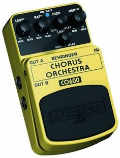 Behringer CO600 Chorus Orchestra Pedal by Behringer. $24.99. Save 17% Off!