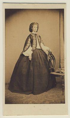 Younger sister to Elisabeth -  Mathilde Ludovika, Duchess in Bavaria (30 September 1843 - 18 June 1925) was the fourth daughter of Maximilian, Duke in Bavaria and Princess Ludovika of Bavaria.